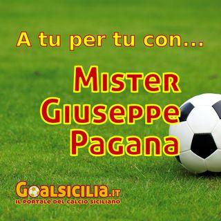 A tu per tu con...  Mister Peppe Pagana