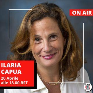 """Virologa Ilaria Capua: """"Ridimensioniamo la psicosi da coronavirus"""""""