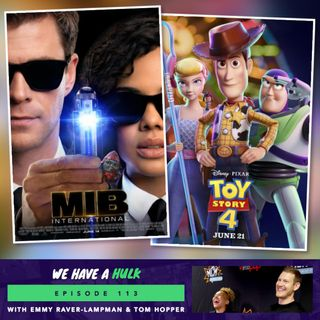 Toy Story 4 + Umbrella Academy's Tom Hopper and Emmy Raver-Lampman