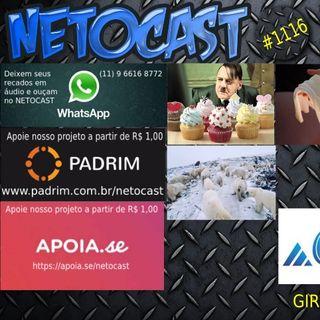 NETOCAST 1116 DE 14/02/2019 - GIRO NETOCAST AO VIVO!