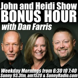 JohnAndHeidiShow(withDanFarris)OnSunny-10-20-20-BrightSpot-BreakTheBankNight