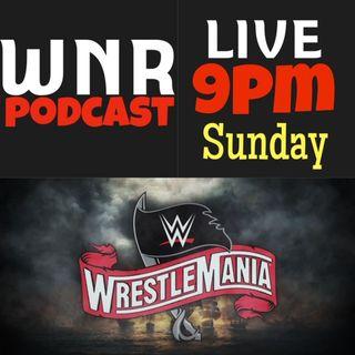 WNR280 WWE WRESTLEMANIA PRE SHOW