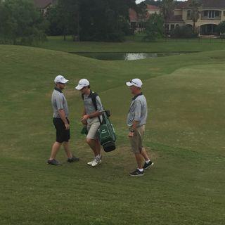 Coach Tim Johnson of the Stratford Spartans Golf Team