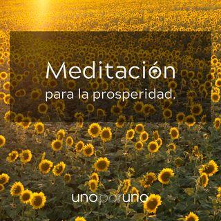 Meditación para la prosperidad