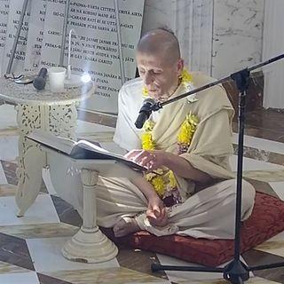 Lettura dalla Srila Prabhupada Lilamrita di Isvara Chandra Das (24 giugno 2019)