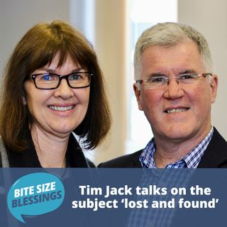 Guest speaker Tim Jack talks on the subject 'lost and found'