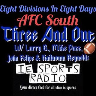 Three And Out- Eight Divisions In Eight Days: AFC South