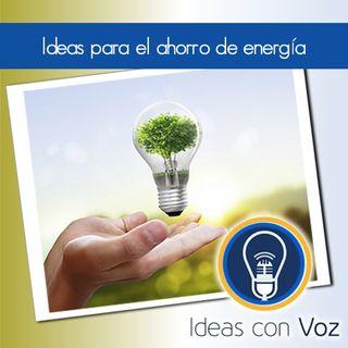 Ideas para el ahorro de energía