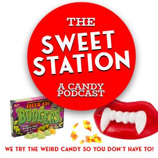 The Sweet Station Eats a Lot of Halloween Candy