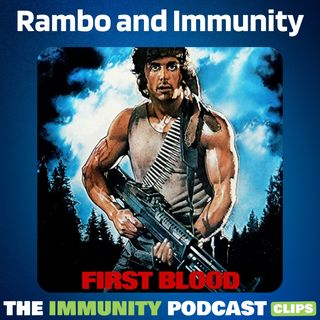 Rambo's Bullets are White Blood Cells of our Bodies