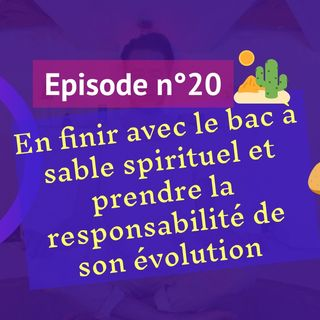 20: En finir avec le bac à sable spirituel et prendre la responsabilité de son évolution