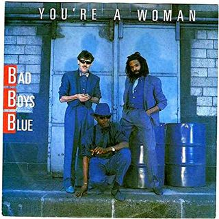 Bad Boys Blue YOU'RE A WOMAN - EXTENDED -