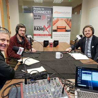 Danny Vander Maten with Cresa and Andy Bean with Office Evolution