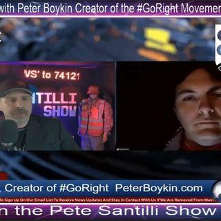 Peter Boykin on the Pete Santilli Show