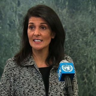 Haley Challenges UN Security Council