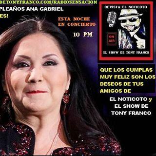 EN CONCIERTO Ana Gabriel