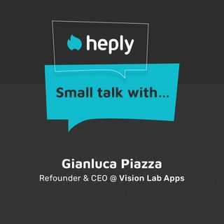 Small Talk With... Gianluca Piazza