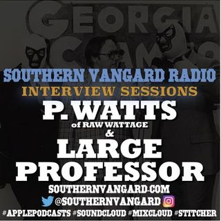 Southern Vangard  184 Episode with P Watts and Large Professor