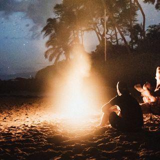 Meditación en la Hoguera de San Juan
