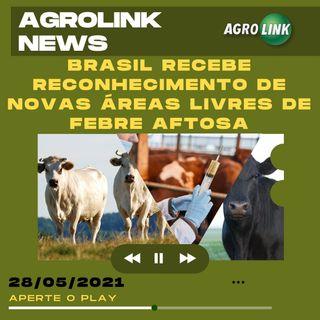 Podcast: Brasil tem novas regiões conhecidas como livres de aftosa sem vacinação