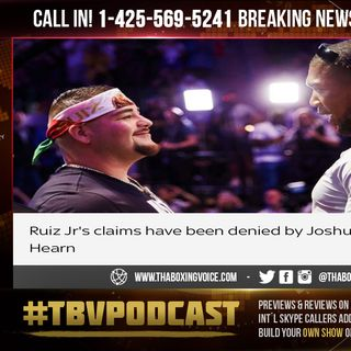 ☎️Ruiz-Joshua 2 Ruiz REJECTS Saudi Arabia 🇸🇦Rematch😱Hearn Threatens Lawsuit👀