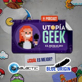 Viajes al espacio: Galactic vs Blue Origin | Utopía Geek: Videojuegos y cómics