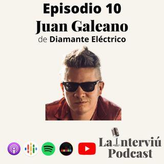 Juan Galeano: como un Diamante Eléctrico