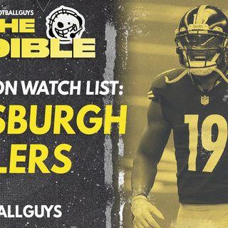 Fantasy Football 2021 - Pittsburgh Steelers Preseason Watch List