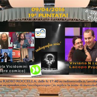 Radiografia Scio' - N.19 del 09-04-2016