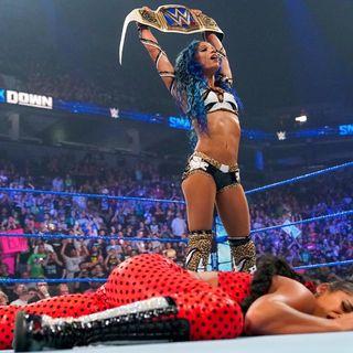 WWE Week in Review: Sasha Banks Returns & Turns Heel, Cena Roasts Roman & Lashley Avoids Goldberg