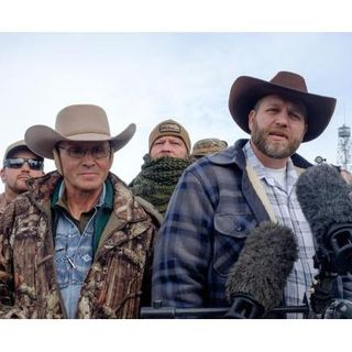 White militia terrorize the state of Oregon.