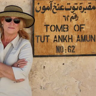 Exploring Egypt During COVID-19 - Sharon Kurtz on Big Blend Radio
