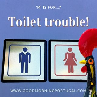 Portugal news, weather & today: Portuguese toilet troubles