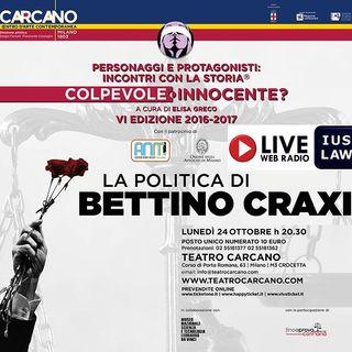 #CulturaGiuridica: Processo alla Politica di Bettino CRAXI