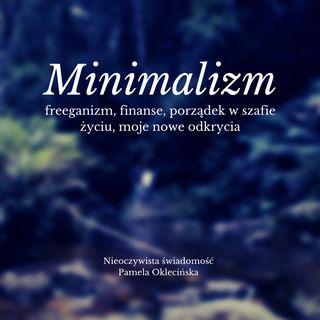 Minimalizm, freeganizm, finanse, porządek w szafie i życiu, moje nowe odkrycia
