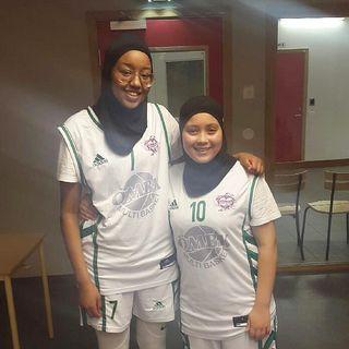 Rahma och Mariam från ÖMBK