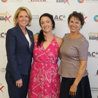 CULTURE CRUSH Catharine Ellingsen with Republic Services and Patti Milligan with Tignum