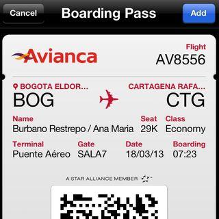 Passbook @Avianca y Alan Parsons PDF