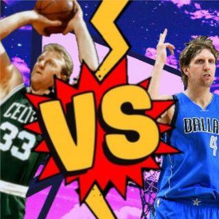 Larry Bird vs Dirk Nowitzki
