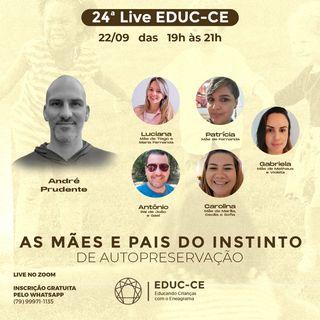 24a Live EDUC-CE: as mães e pais no instinto de autopreservação do eneagrama