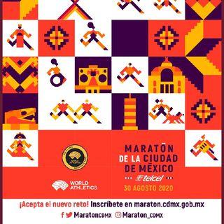 CONVOCAN A MARATON CIUDAD DE MEXICO 2020. Episodio 98 - ATLETISMO EN MEXICO's show
