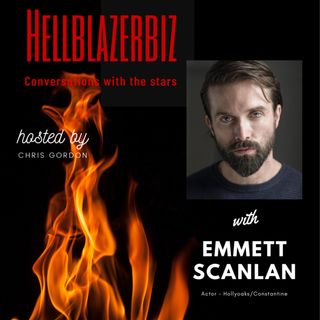 NBC Constantine actor Emmett Scanlan talks to me about the role, Hollyoaks & more