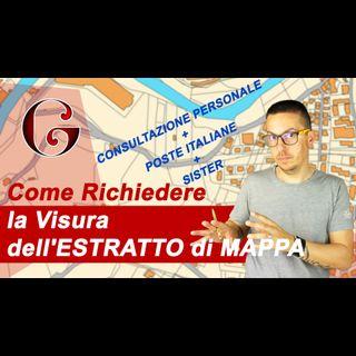 Come Richiedere la Visura dell'ESTRATTO di MAPPA - Consultazione Personale, Poste Italiane e Sister