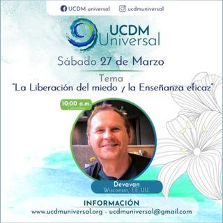 Sesión en UCDM Universal con Devaván (2021-03-27)