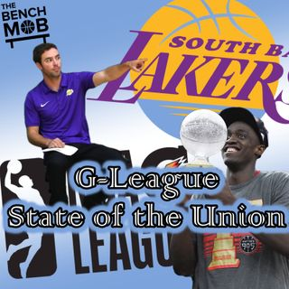 G-League State of the Union w/ Nick Lagios, South Bay Lakers Director of Basketball Ops