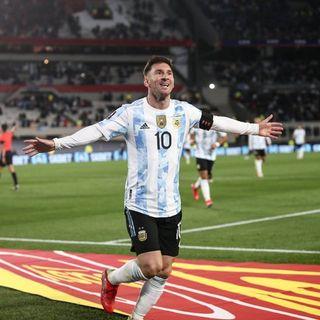 Gol de Argentina: Lionel Messi 2-0