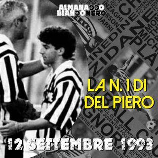 12 settembre 1993 - La N. 1 di Del Piero