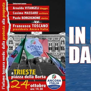In diretta da Trieste: l'infame tessera verde dalla protesta alla proposta