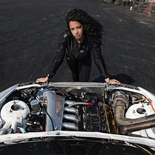 Noor Daoud - First Female Drifter in the Middle East
