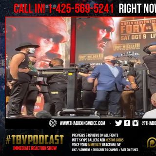 ☎️Immediate Reaction: Tyson Fury 277 LBS⚖️Deontay Wilder 238⚖️Official Weigh-In🔥